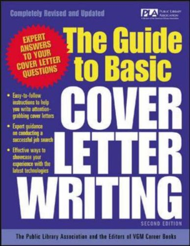9780071405904: The Guide to Basic Cover Letter Writing