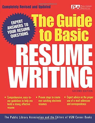 9780071405911: The Guide to Basic Resume Writing