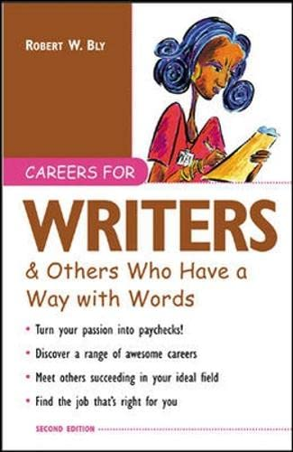 9780071406000: Careers for Writers & Others Who Have a Way with Words