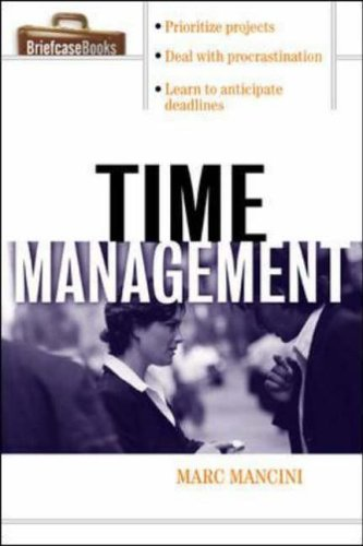 9780071406109: Time Management