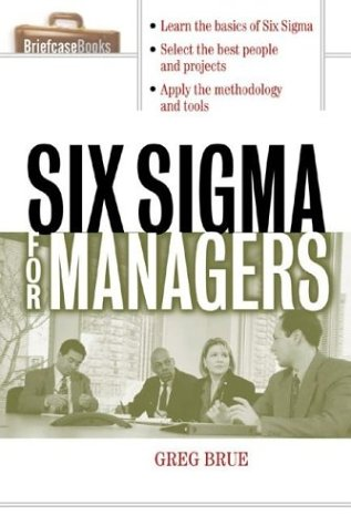 9780071406215: Six SIGMA for Managers