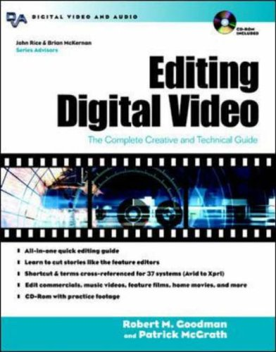 9780071406352: Editing Digital Video : The Complete Creative and Technical Guide