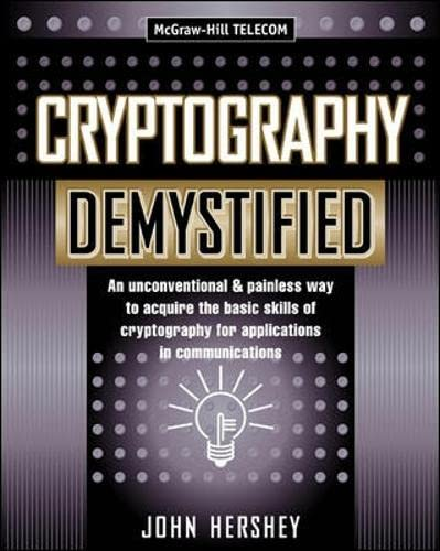 9780071406383: Cryptography Demystified