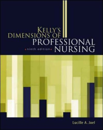 9780071406390: Kelly's Dimensions of Professional Nursing