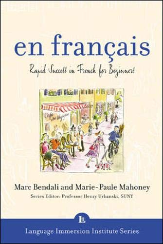 9780071406482: En Francais (Book + 3CDs): Rapid Success in French for Beginners (Language Immersion Institute)