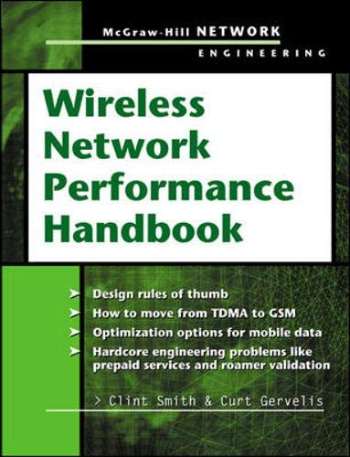 9780071406550: Wireless Network Performance Handbook (Telecom Engineering)