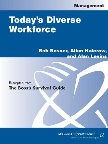 9780071406604: Boss's Survival Guide: Today's Diverse Workforce