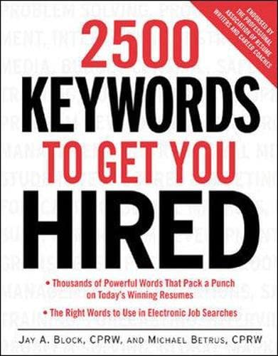 9780071406734: 2500 Keywords to Get You Hired