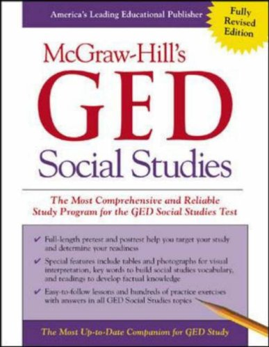 McGraw-Hill's GED Social Studies (0071407022) by Kenneth Tamarkin; Jeri Bayer
