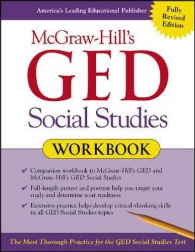 9780071407038: McGraw-Hill's GED Social Studies Workbook