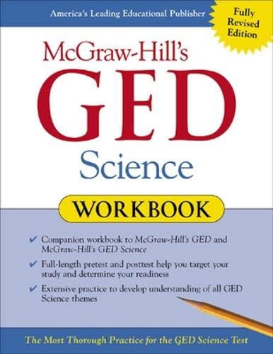 9780071407052: McGraw-Hill's GED Science Workbook