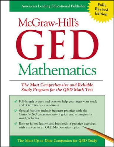 9780071407069: McGraw-Hill's GED Mathematics : The Most Comprehensive and Reliable Study Program for the GED Math Test