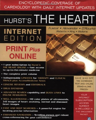 9780071407267: Hurst's the Heart Internet Edition