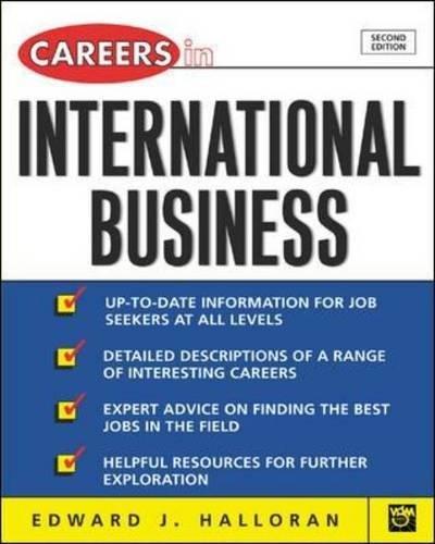 9780071407359: Careers in International Business