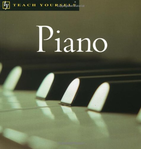9780071407588: Teach Yourself Piano