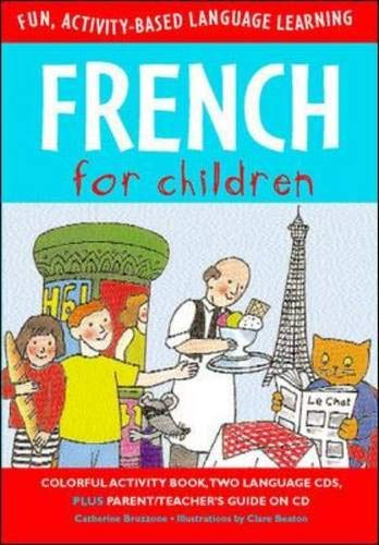9780071407670: French for Children (Book + Audio CD) (Language for Children Series)