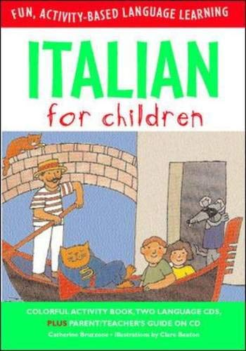 9780071407731: Italian for Children (Book & CD) (Language for Children)