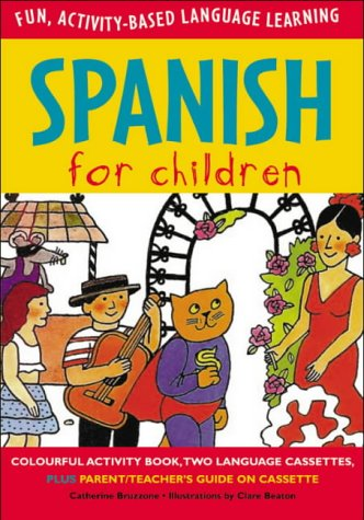 9780071407854: Spanish for Children (Book + Audio CD) (Language for Children Series)