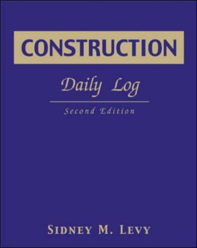 9780071408141: Construction Daily Log