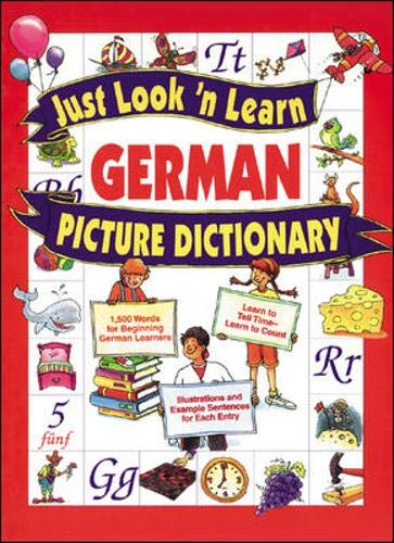 9780071408318: Just Look 'n Learn German Picture Dictionary