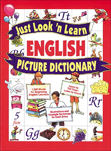 9780071408332: Just Look 'n Learn English Picture Dictionary