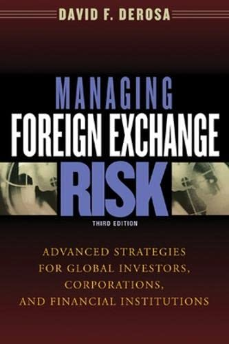 9780071408363: Managing Foreign Exchange Risk: Advanced Strategies for Global Investors, Corporations, and Financial institutions