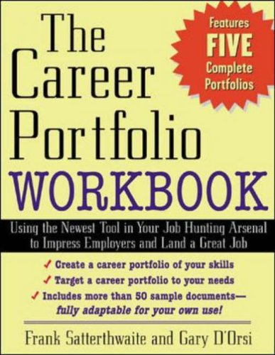 9780071408554: The Career Portfolio Workbook: Impress ?Employers? not Employees (Career (Exclude VGM))
