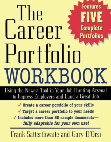 9780071408554: The Career Portfolio Workbook: Using the Newest Tool in Your Job-Hunting Arsenal to Impress Employers and Land a great Job!