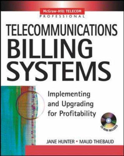 9780071408578: Telecommunications Billing Systems