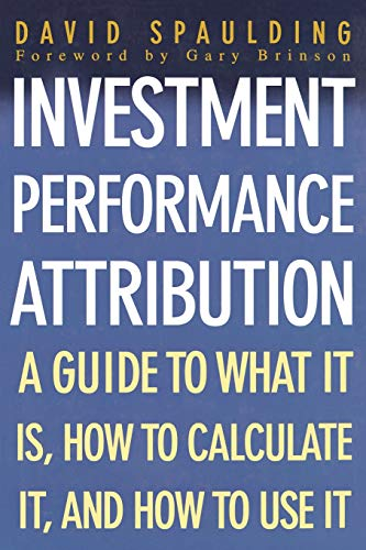 9780071408851: Investment Performance Attribution