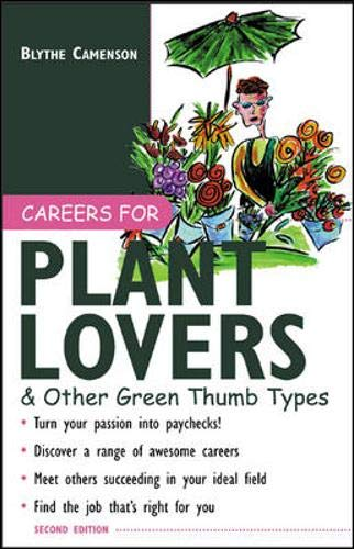 9780071408974: Careers for Plant Lovers & Other Green Thumb Types (Careers For Series)