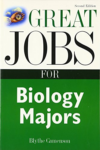 9780071408981: Great Jobs for Biology Majors
