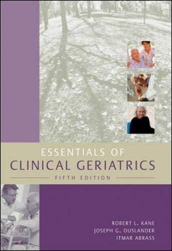 9780071409209: Essentials of Clinical Geriatrics