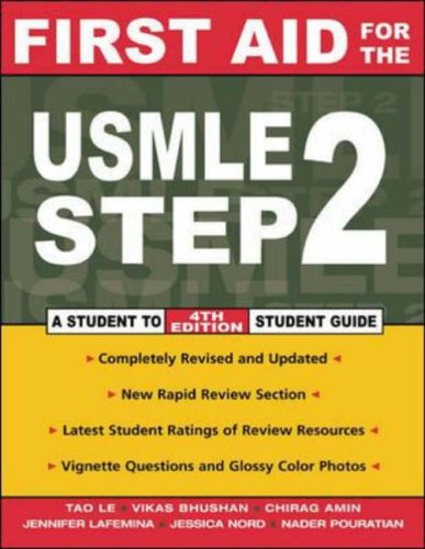 9780071409308: First Aid for Usmle Step 2 (First Aid Series)