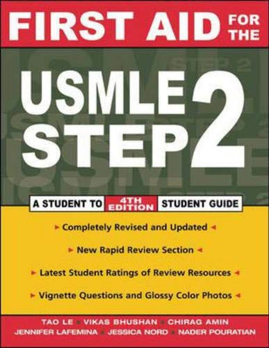 9780071409308: First Aid for the USMLE Step 2 (First Aid Series) A Student to Student Guide 4th Edition