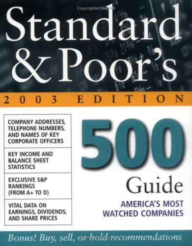 Standard & Poor's 500 Guide : 2003: Standard & Poor&s