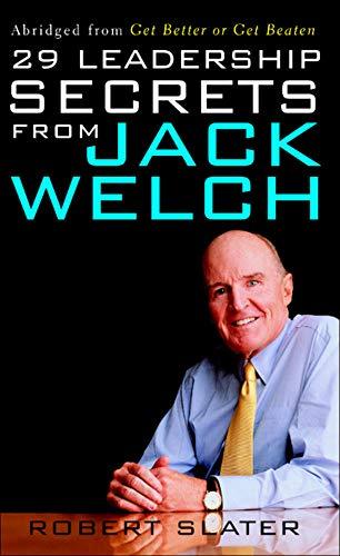 9780071409377: 29 Leadership Secrets From Jack Welch