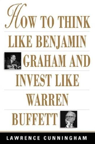 9780071409391: How to Think Like Benjamin Graham and Invest Like Warren Buffett (Personal Finance & Investment)