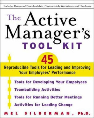9780071409452: The Active Manager's Tool Kit
