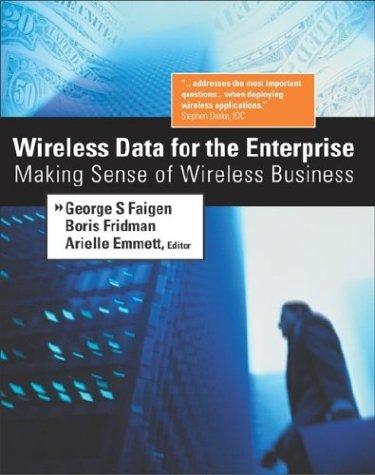 9780071409667: Wireless Data for the Enterprise