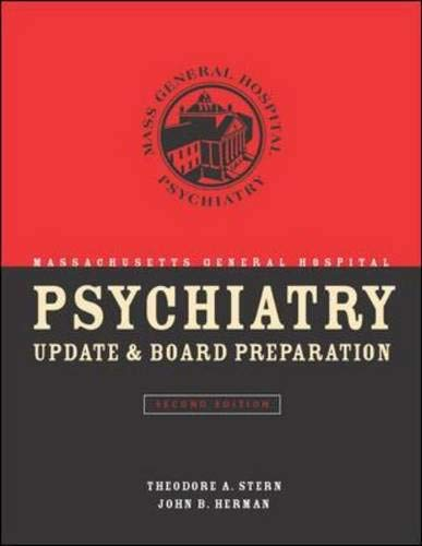 9780071410007: Massachusetts General Hospital Psychiatry Update & Board Preparation, Second Edition