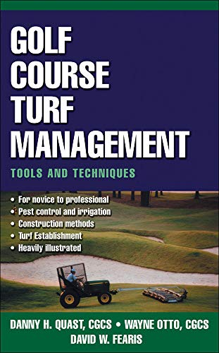 9780071410076: Golf Course Turf Management: Tools and Techniques