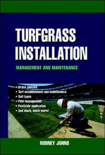 9780071410083: Turfgrass Installation, Management and Maintenance