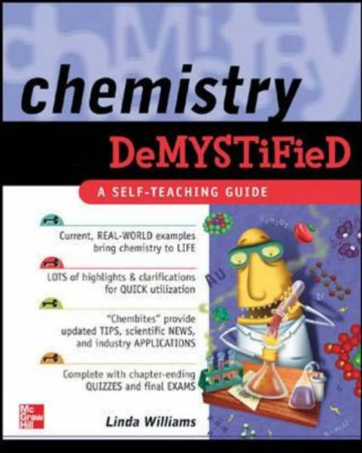 9780071410113: Chemistry Demystified: A Self-teaching Guide (Tab Demystified)
