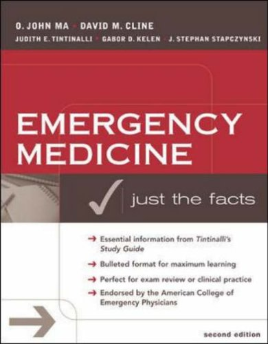 9780071410243: Emergency Medicine: Just the Facts, Second Edition