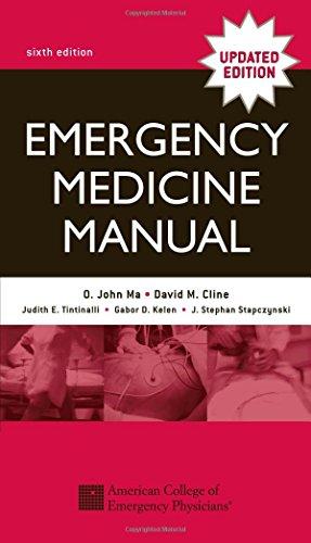 9780071410250: Emergency Medicine Manual