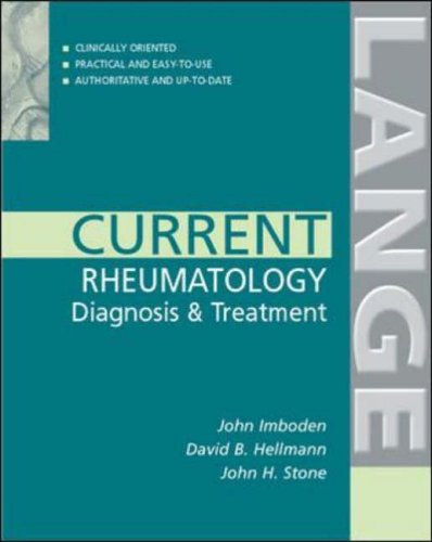 9780071410274: Rheumatology: Diagnosis and Treatment (Lange Current Series)