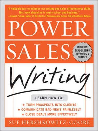 9780071410335: Power Sales Writing