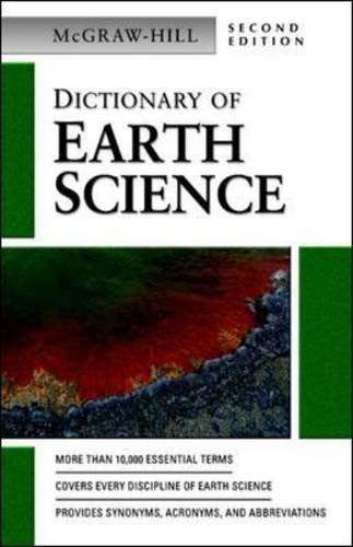 9780071410458: Dictionary of Earth Science