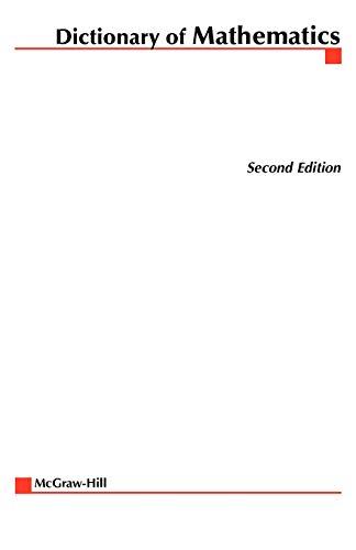 Dictionary of Mathematics: McGraw-Hill